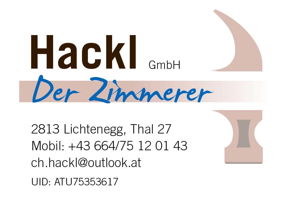 Hackl GmbH - Der Zimmerer - Logo